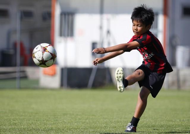Più forte che posso - Milan Junior Camp