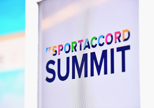 BANGKOK, THAILAND - APRIL 18:  A general view prior to the SportAccord Summit conference on day four of the SportAccord at Centara Grand & Bangkok Convention Centre on April 18, 2018 in Bangkok, Thailand.  (Photo by Thananuwat Srirasant/Getty Images)