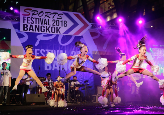 BANGKOK, THAILAND - APRIL 18:  Children perform during the Sport Festival Opening Ceremony during day four of the SportAccord at Centara Grand & Bangkok Convention Centre on April 18, 2018 in Bangkok, Thailand.  (Photo by Lauren DeCicca/Getty Images)